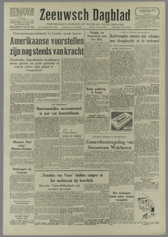 Zeeuwsch Dagblad 1957-05-27