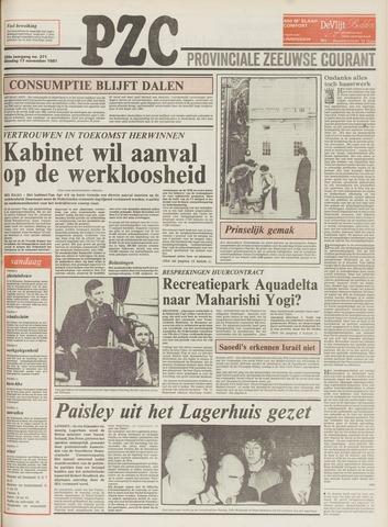Provinciale Zeeuwse Courant 1981-11-17