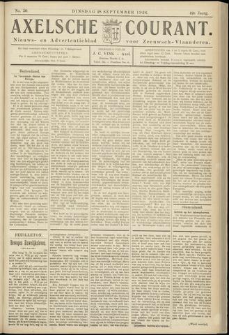 Axelsche Courant 1926-09-28