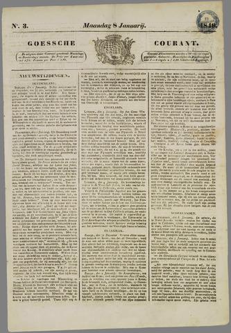Goessche Courant 1849-01-08