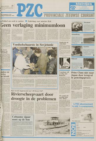 Provinciale Zeeuwse Courant 1991-09-10