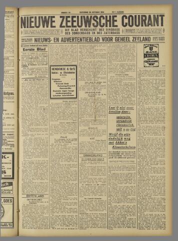 Nieuwe Zeeuwsche Courant 1924-10-25