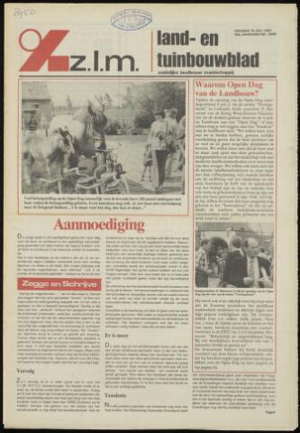 Zeeuwsch landbouwblad ... ZLM land- en tuinbouwblad 1981-07-10