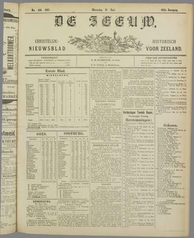 De Zeeuw. Christelijk-historisch nieuwsblad voor Zeeland 1897-06-16