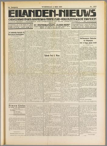 Eilanden-nieuws. Christelijk streekblad op gereformeerde grondslag 1939-05-03