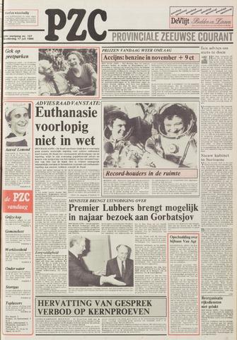 Provinciale Zeeuwse Courant 1986-07-17