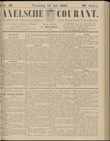 Axelsche Courant 1910-07-13