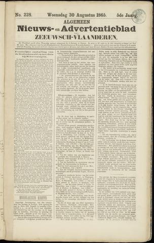 Ter Neuzensche Courant. Algemeen Nieuws- en Advertentieblad voor Zeeuwsch-Vlaanderen / Neuzensche Courant ... (idem) / (Algemeen) nieuws en advertentieblad voor Zeeuwsch-Vlaanderen 1865-08-30