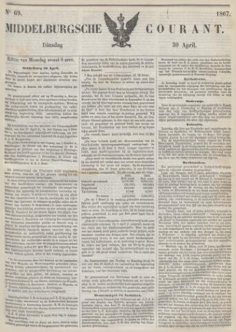 Middelburgsche Courant 1867-04-30