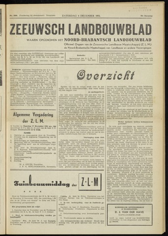 Zeeuwsch landbouwblad ... ZLM land- en tuinbouwblad 1951-12-08