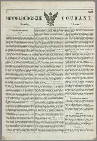 Middelburgsche Courant 1871-01-02