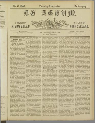 De Zeeuw. Christelijk-historisch nieuwsblad voor Zeeland 1902-11-08