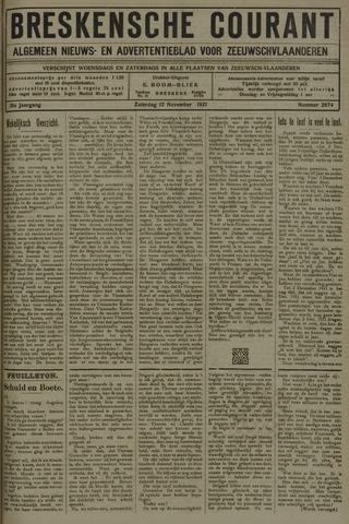 Breskensche Courant 1921-11-12
