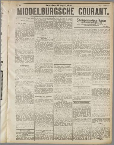 Middelburgsche Courant 1921-04-23