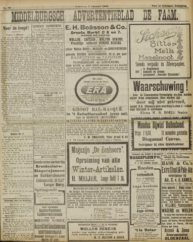 de Faam en de Faam/de Vlissinger 1920