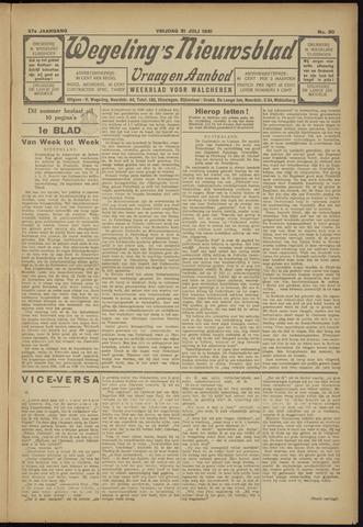 Zeeuwsch Nieuwsblad/Wegeling's Nieuwsblad 1931-07-31