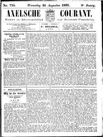 Axelsche Courant 1893-08-16