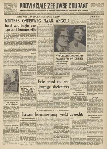 Provinciale Zeeuwse Courant 1961-01-27
