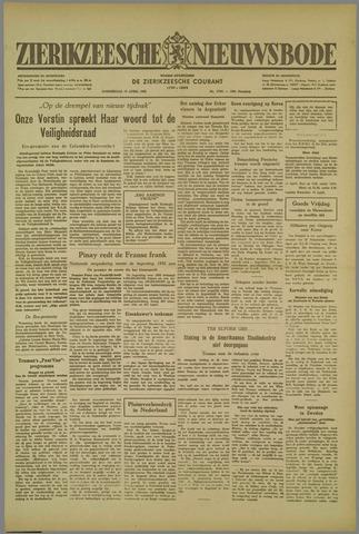 Zierikzeesche Nieuwsbode 1952-04-10
