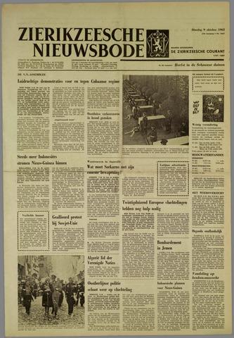 Zierikzeesche Nieuwsbode 1962-10-09