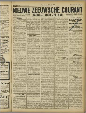 Nieuwe Zeeuwsche Courant 1921-04-06