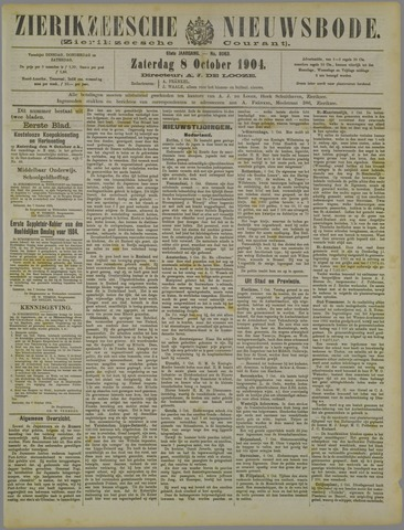 Zierikzeesche Nieuwsbode 1904-10-08