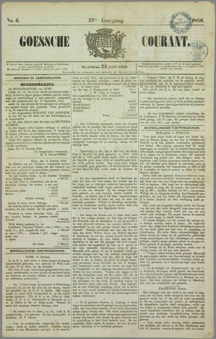Goessche Courant 1856-01-21