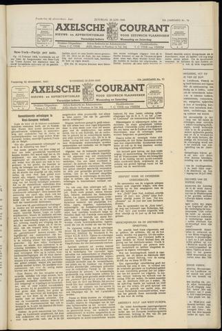 Axelsche Courant 1949-06-22