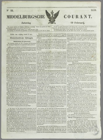 Middelburgsche Courant 1859-02-19