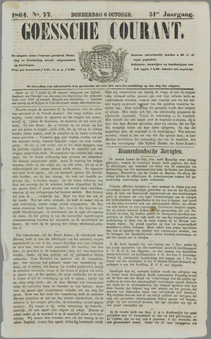 Goessche Courant 1864-10-06