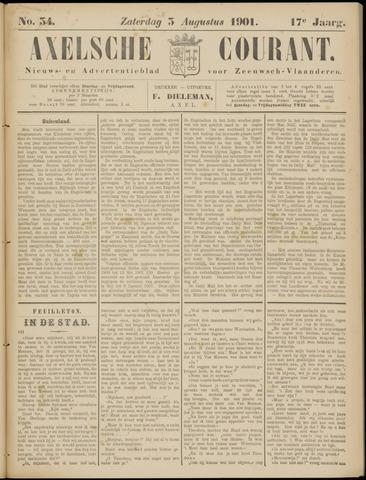 Axelsche Courant 1901-08-03