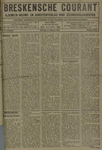 Breskensche Courant 1922-02-25