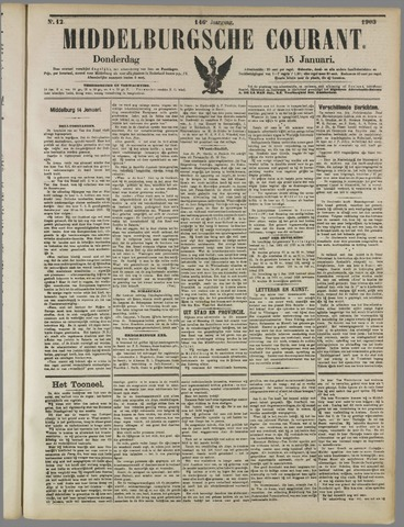 Middelburgsche Courant 1903-01-15