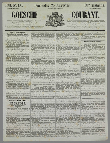 Goessche Courant 1881-08-25