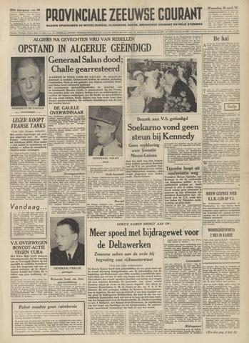 Provinciale Zeeuwse Courant 1961-04-26