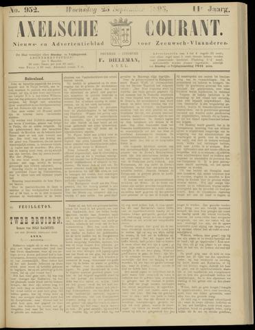 Axelsche Courant 1895-09-25