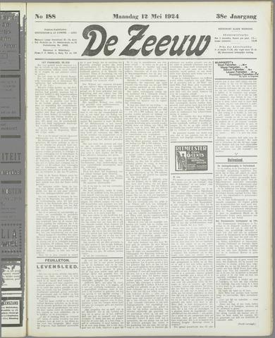 De Zeeuw. Christelijk-historisch nieuwsblad voor Zeeland 1924-05-12