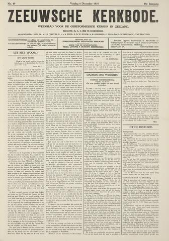 Zeeuwsche kerkbode, weekblad gewijd aan de belangen der gereformeerde kerken/ Zeeuwsch kerkblad 1935-12-06