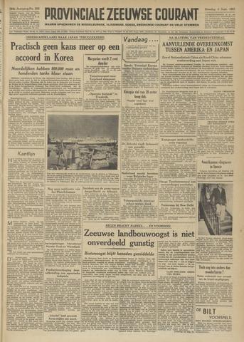 Provinciale Zeeuwse Courant 1951-09-04