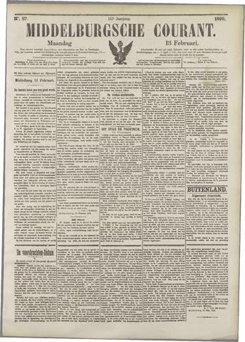 Middelburgsche Courant 1899-02-13