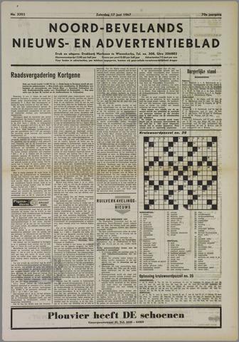 Noord-Bevelands Nieuws- en advertentieblad 1967-06-17