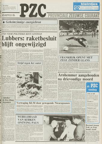 Provinciale Zeeuwse Courant 1984-06-13