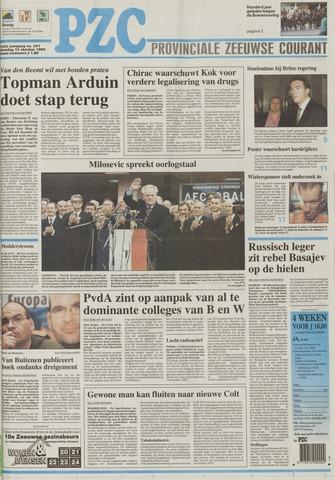 Provinciale Zeeuwse Courant 1999-10-12