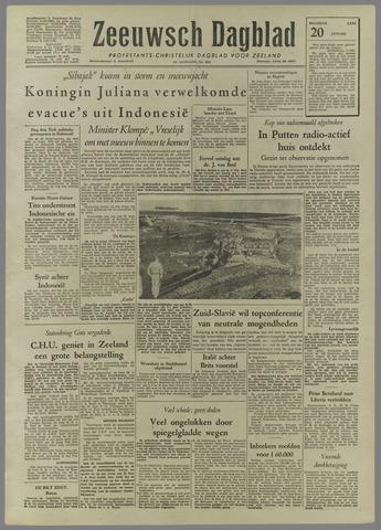 Zeeuwsch Dagblad 1958-01-20