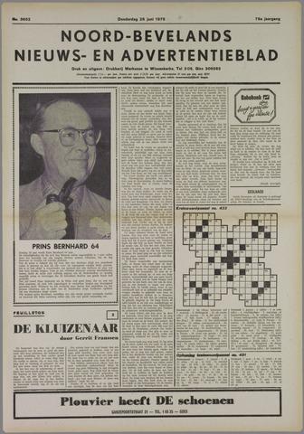Noord-Bevelands Nieuws- en advertentieblad 1975-06-26