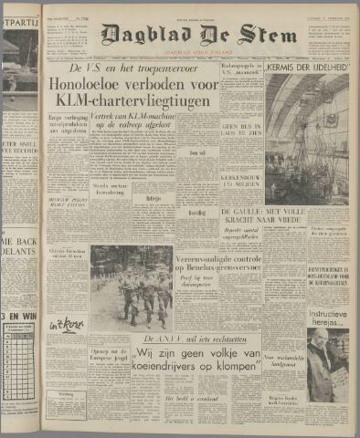 de Stem 1962-02-06