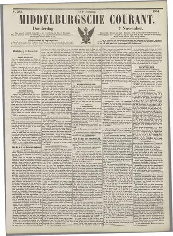 Middelburgsche Courant 1901-11-07