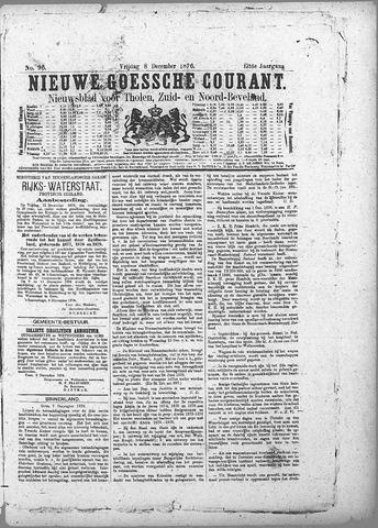 Nieuwe Goessche Courant 1876-12-08