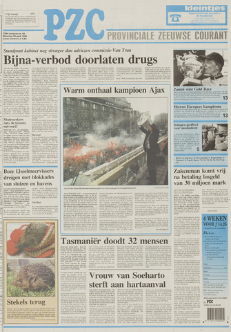 Provinciale Zeeuwse Courant 1996-04-29