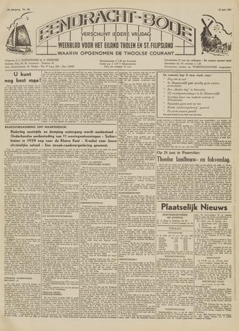 Eendrachtbode (1945-heden)/Mededeelingenblad voor het eiland Tholen (1944/45) 1959-06-12